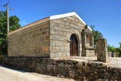 Sao Sebastiao chapel in Sortelha. Portugal Royalty Free Stock Image