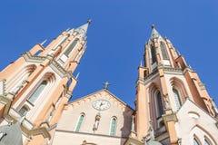 Sao Sebastiao Martir Church Stock Photo