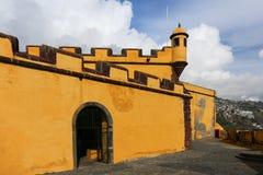 Sao Tiago do forte em Funchal (Madeira) Foto de Stock Royalty Free