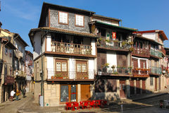 Sao Tiago kwadrat Guimaraes Portugalia zdjęcie royalty free