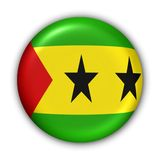 Sao Tome Flag Royalty Free Stock Photos