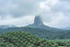 Sao Tome, pico Cao Grande