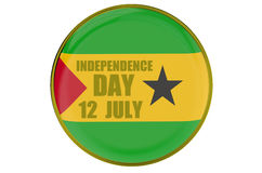 Sao Tome and Principe Independence Day Royalty Free Stock Photo