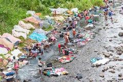 Sao Tome, río fotografía de archivo