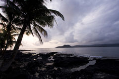 Sao Tome sunset Stock Photos