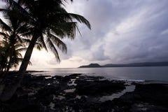 Sao Tome sunset Stock Photos