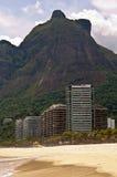 Sao tropical Conrado Beach en Rio de Janeiro photo libre de droits