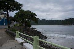 sao vicente Brasil da cidade da praia Imagens de Stock Royalty Free
