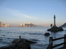 Sao Vicente Brazil Discovery Mark Imagem de Stock Royalty Free