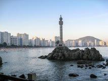Sao Vicente Brazil Discovery Mark Photo libre de droits