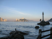 Sao Vicente Brazil Discovery Mark Royalty Free Stock Image