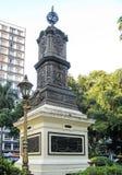 Sao Vicente Brazil do monumento Imagem de Stock Royalty Free
