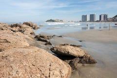 Sao Vicente Brazil Gonzaguinha Photos libres de droits