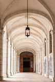 Sao vicente de för arkitektoniska detaljer i Lissabon, Portugal Arkivbild