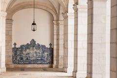 Sao vicente de för arkitektoniska detaljer i Lissabon, Portugal Royaltyfri Fotografi