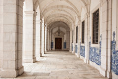 Sao vicente de fora architectural details in Lisbon, Portugal Royalty Free Stock Photo