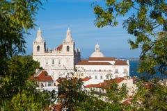 Sao Vicente de Fora Church en Lisboa, Portugal Fotografía de archivo libre de regalías