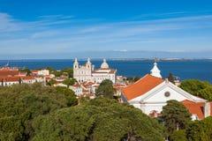 Sao Vicente de Fora Church in Lisbon, Portugal Royalty Free Stock Photos