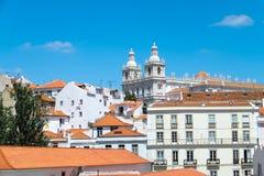 Sao Vicente de Fora in Lisbon Stock Photography