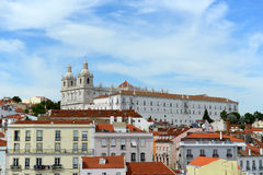 Sao Vicente de Fora, Lisbon, Portugal Royalty Free Stock Photography