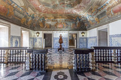 Sao Vicente de Fora Monastery Λισσαβώνα Στοκ φωτογραφία με δικαίωμα ελεύθερης χρήσης