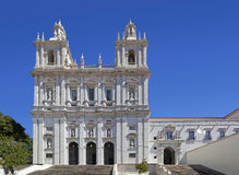 Sao Vicente de Fora Monastery. One of the most important monuments in Lisbon. 17th Century Mannerist architecture. Lisbon, Portugal Stock Images