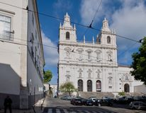 Sao Vicente de Fora Monastery Alfama Royalty Free Stock Photos