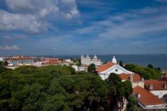 Sao Vicente de Fora Monastery Alfama Stock Images