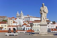 Sao Vicente de Fora Monastery Alfama Lisbon Imagen de archivo libre de regalías