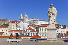Sao Vicente de Fora Monastery Alfama Lisbon Royalty Free Stock Image