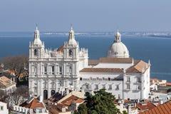 Sao Vicente de Fora Monastery Alfama Lisbon Royalty Free Stock Photography
