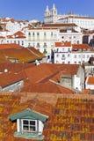 Sao Vicente de Fora Monastery Alfama Lisbon Royalty Free Stock Photo