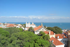 Sao Vicente de Fora Monastery, Lisboa, Portugal Fotografía de archivo