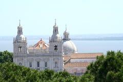Sao Vicente De Fora Monastery in Lisbon Stock Photos