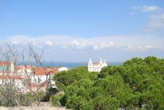 Sao Vicente de Fora Monastery, Lissabon, Portugal Stock Afbeeldingen