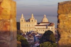 Sao Vicente de Fora Monastery Royalty Free Stock Photo