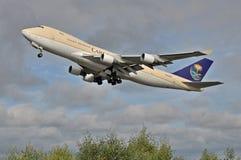 Saoediger - Arabische B747F Royalty-vrije Stock Fotografie