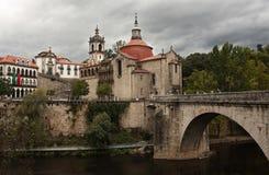 SaoGoncalo kloster Arkivbilder