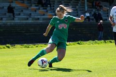 Saoirse Noonan at the Women`s National League game: Cork City FC vs Galway WFC. May 12th, 2019, Cork, Ireland - Saoirse Noonan at the Women`s National League stock photos