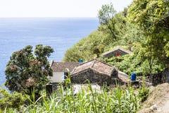 SaoMiguel ö, Azores, Portugal arkivfoton