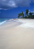 Saona island beach Dominican republic Stock Photo