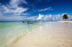 Saona plaża Obraz Royalty Free