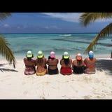 Saona Wyspa Fotografia Stock