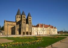 Saone et Loire, η γραφική πόλη Paray LE Monial Στοκ φωτογραφίες με δικαίωμα ελεύθερης χρήσης