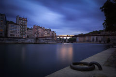 Saone time Royalty Free Stock Photography