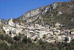 Saorge, Alpes Maritimes, Francia Immagine Stock