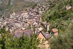 Saorge wioska, Francja Zdjęcia Royalty Free
