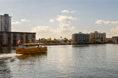Water Taxi in south Florida stock photo