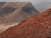 SaoVicente ö, Kap Verde Arkivbild