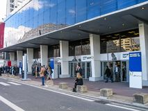 SAP青玉技术会议的到会者 库存图片